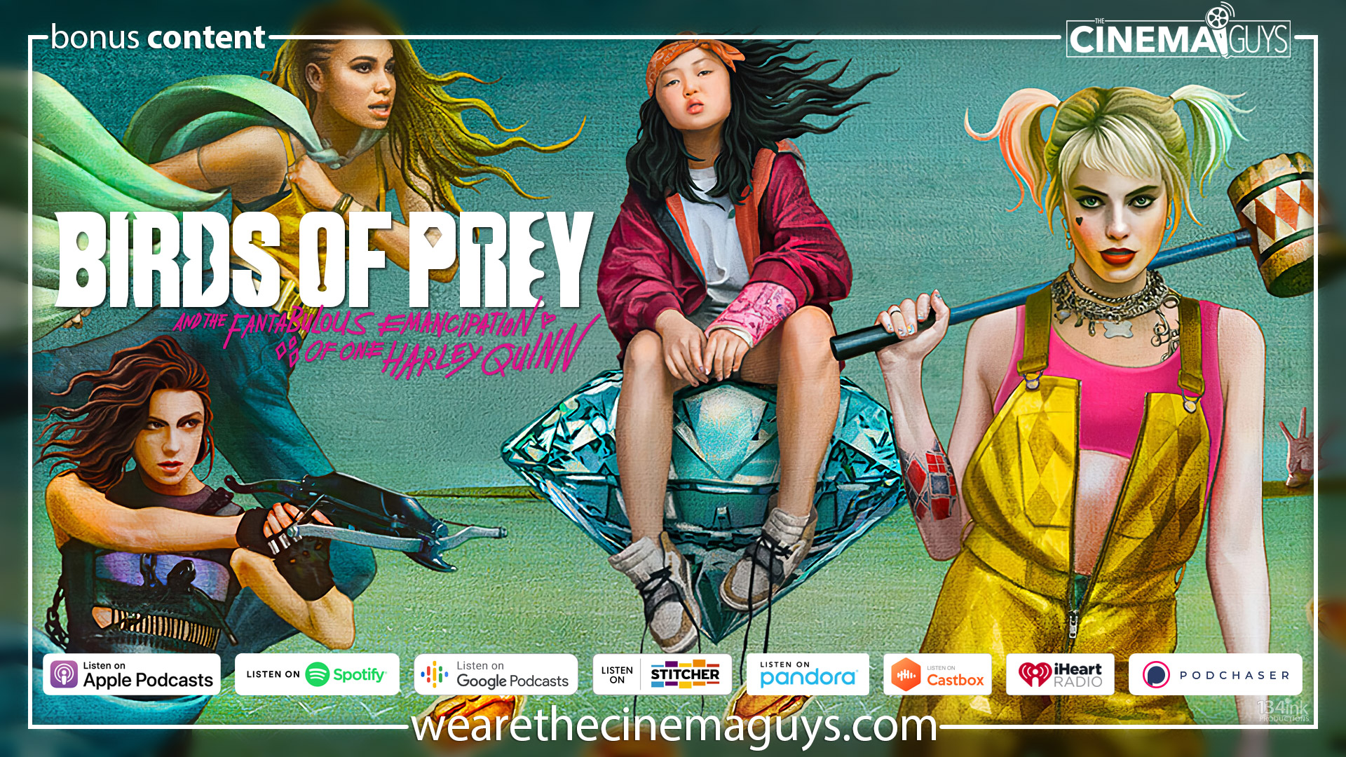 Birds Of Prey And The Fantabulous Emancipation Of One Bonus Episode The Cinema Guys